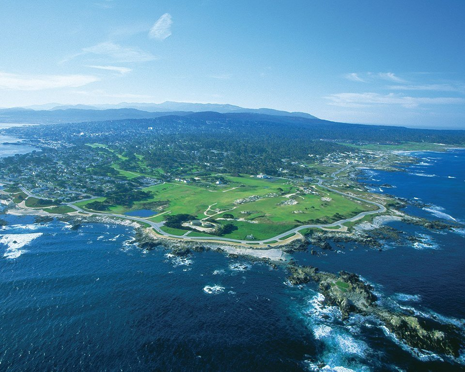 Pacific Grove-aerial